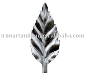 wrought iron leaves---ab2223