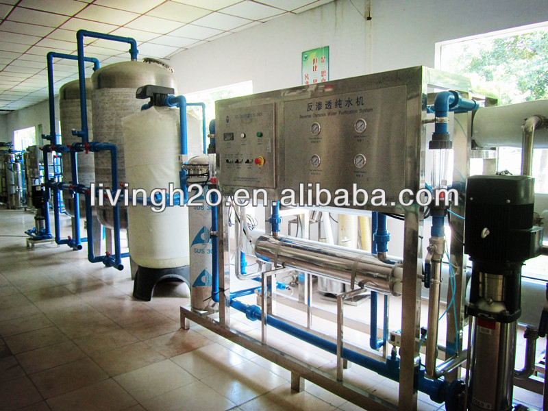 Reverse osmosis water treatment system and water bottling plant with price