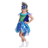 Pretty Princess girls cosplay costume Peacock Girl fancy dress Halloween child carnival costumes suppliers wholesale