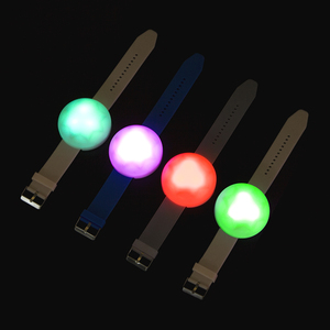 LED Wristband Flashing remote controlled led bracelet
