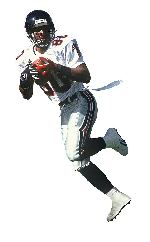 Andre Rison Atlanta Falcons NFL Fathead REAL.BIG Wall Graphics