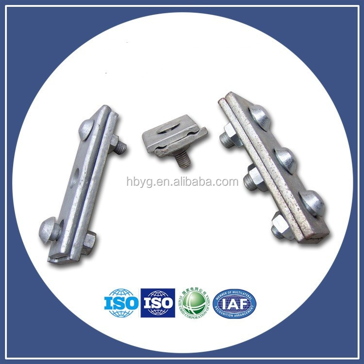 Parallel Groove Clamps Forged Guy Cable Pg Clamp With Two Bolts ...