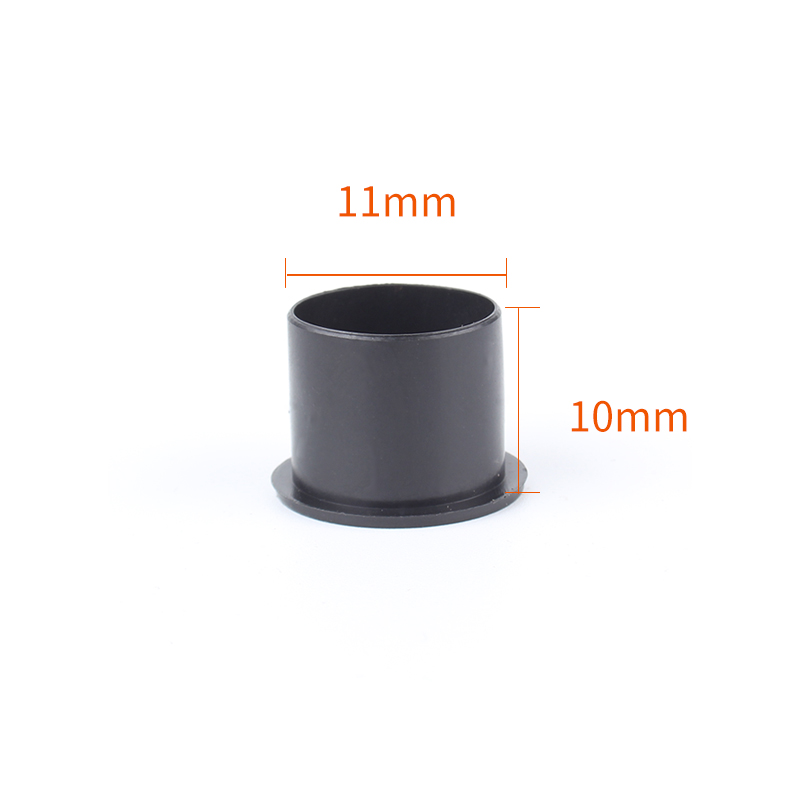 YILONG Black Wide Base Ink Cup Safe non-toxicPVR Material Supplies Permanent Makeup