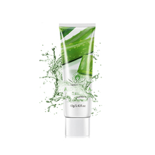 OEM/ODM BIOAQUA Moisturizing Aloe Vera Gel for hydrating nourishing skin care with oil control and remove blackhead cream