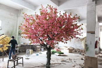 Wedding Decoration Fake Cherry Blossom Tree Branches Dry Branch Plastic Braches