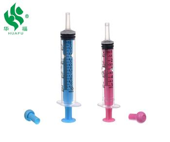 5ml 10ml 20ml 30ml 50ml 60ml Baby feeding jello oral syringe with caps
