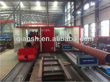 Movable Pipe Cutting & Beveling Workstation with Auto.Conveying System