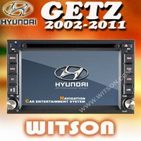 WITSON HYUNDAI GETZ 2002-2011 DOUBLE DIN CAR STEREO with Built-in TV tuner