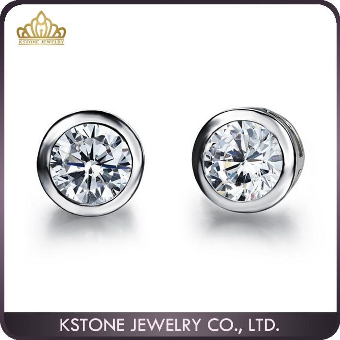 Kstone Mens Diamond Earrings Stud Boys Studs Whole Fake Earring Product On Alibaba