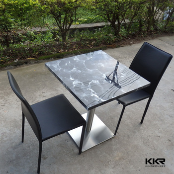 Custom Size Restaurant Cafe Bistro Table And Chair Sets Buy - Restaurant table and chair sets