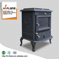 Indoor freestanding antique cast iron wood burning stove for sale HF446