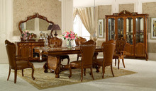 Home Furniture Italian classic hand-carved furniture, luxury classic diningroom