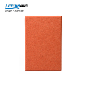 studio soundproof polyester fiber acoustic panel for decor karaoke room