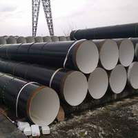 36 Inch Large Diameter Galvanized Steel Pipe , AWWA C200 Spiral Welded Carbon Steel Tubes for Drinking Water Transmission