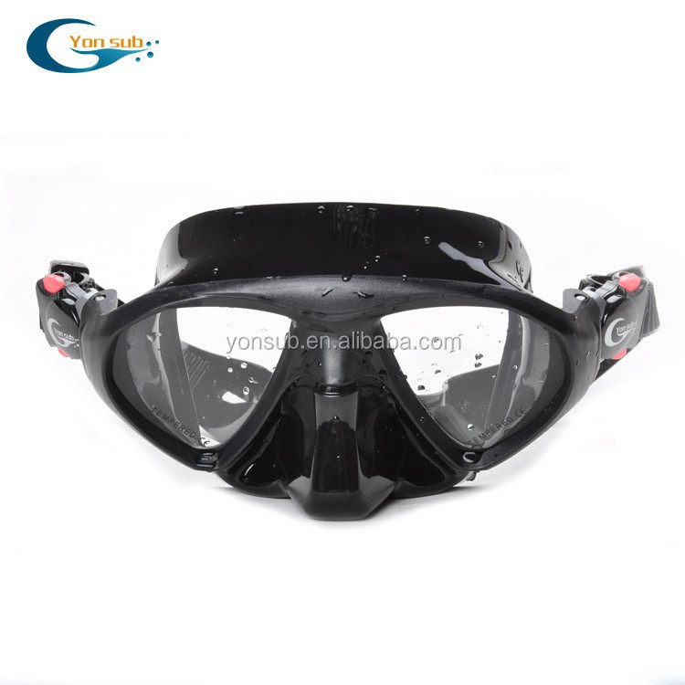 Silicone Diving masker dan snorkel set