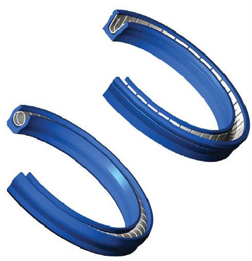 DLSEALS high-quality PTFE+Carbon spring energized seal