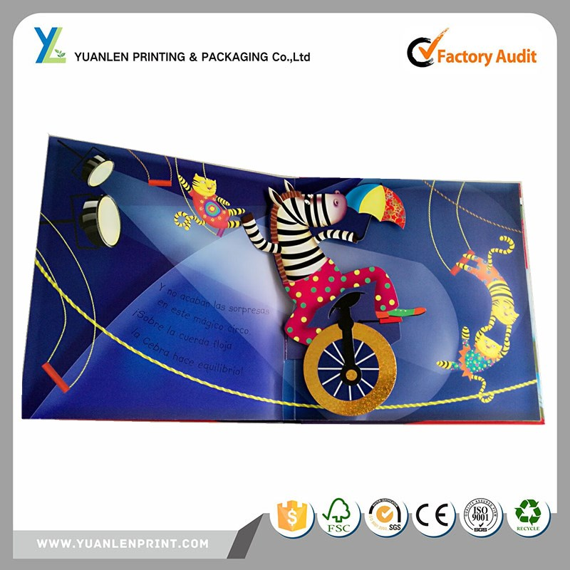 printing services pop up story books/pop up 3d book/pop up book creator