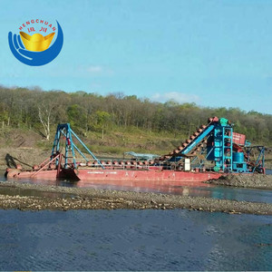 Chinese Cheap Price Mini Sand Dredger Boat / Dredge Machinery / Gold Mining Dredger Sale