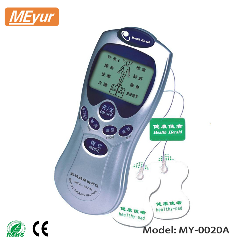 Mini Tens ems Digital Therapy Massager