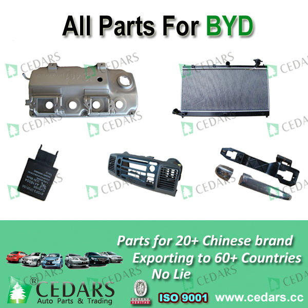 auto accessory parts for byd