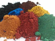 Inorganic pigment iron oxide red Fe2O3 110 120 130 190 for concrete