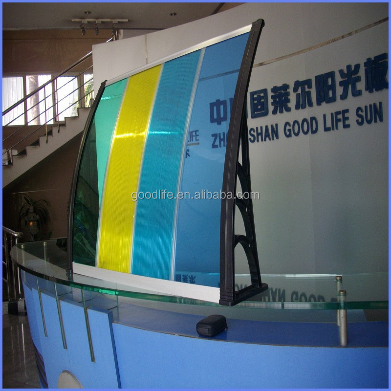 Safety performance door and window rain cover for personal use
