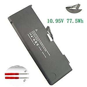 "SKYSTYLE New Replacement A1382 Laptop Battery For MacBook Pro 15.4"" 2.0GHz Core i7 (A1286) - Early 2011 MC721L L/A 2.2GHz Core i7 (A1286) - Early 2011 MC723LL/A A1382 661-5211 661-5476 10.95V 77.5WH"