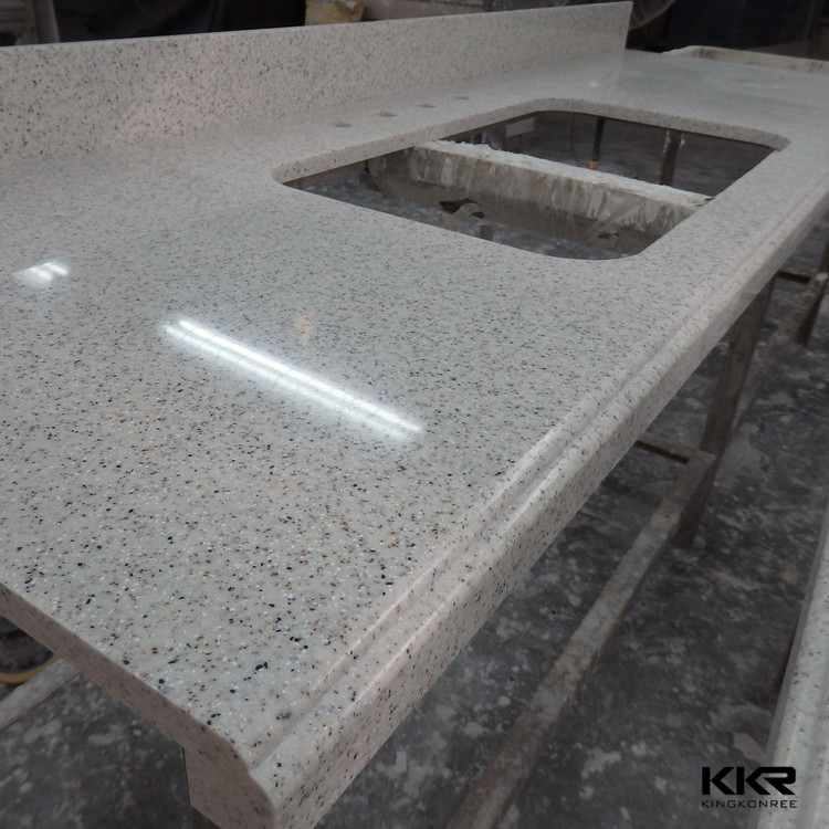 Waterfall Edge Quartz Solid Surface Countertop, Waterfall Edge Quartz Solid  Surface Countertop Suppliers And Manufacturers At Alibaba.com