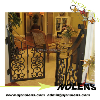 Interior Wrought Iron Gate Designs For Homes Made In China, Hot Sales Door  Iron