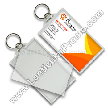 Acrylic key chain snap in business card 2 x 35 inches clear custom acrylic key chain snap in business card 2 x 35 inches clear custom promotional gift colourmoves
