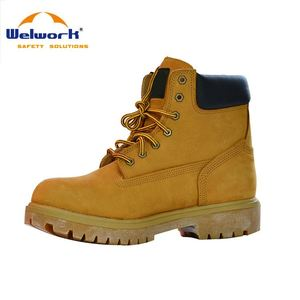 24 Hours Feedback High Performance mens leather steel toe cap safety work boots
