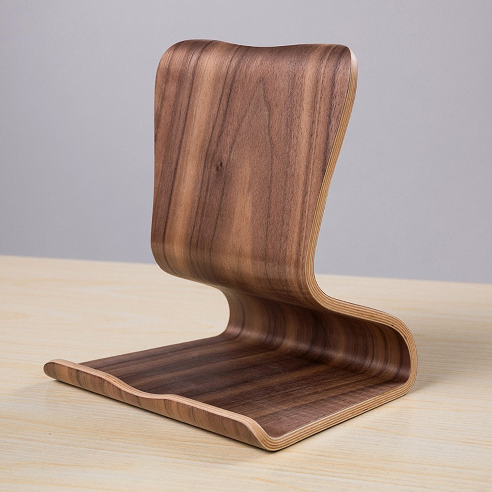 iPad Wooden Stand Premium Natural Wood Stand Holder Support For iPad/iPod