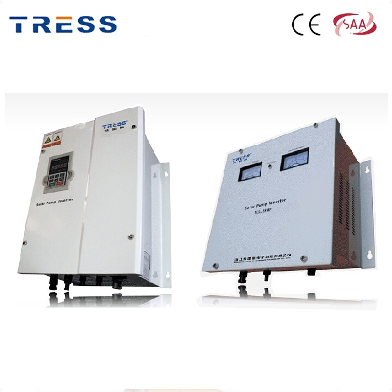 TRESS 50kw lcd solar pumping inverter waterproof inverter factory price with CE SAA certification