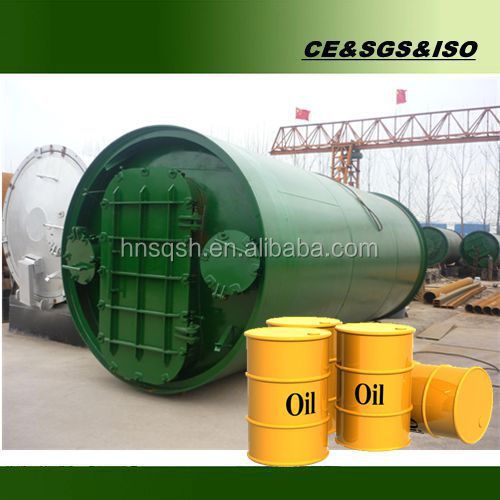 The most favorable price Waste tyre refining equipment with CE ISO