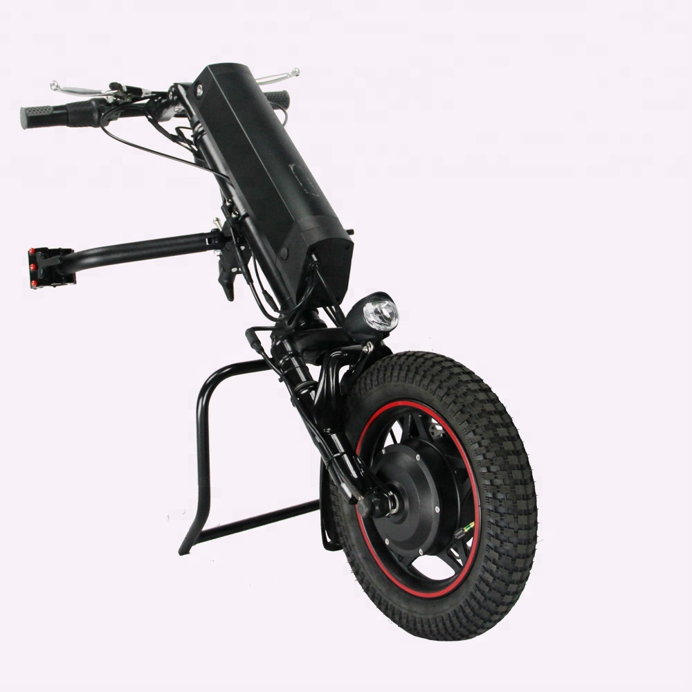 suspension new model electric wheelchair handcycle 36v 350w handbike for handicap