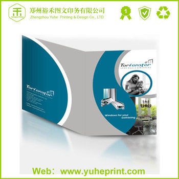 customized company logo promotional booklets printing spare parts