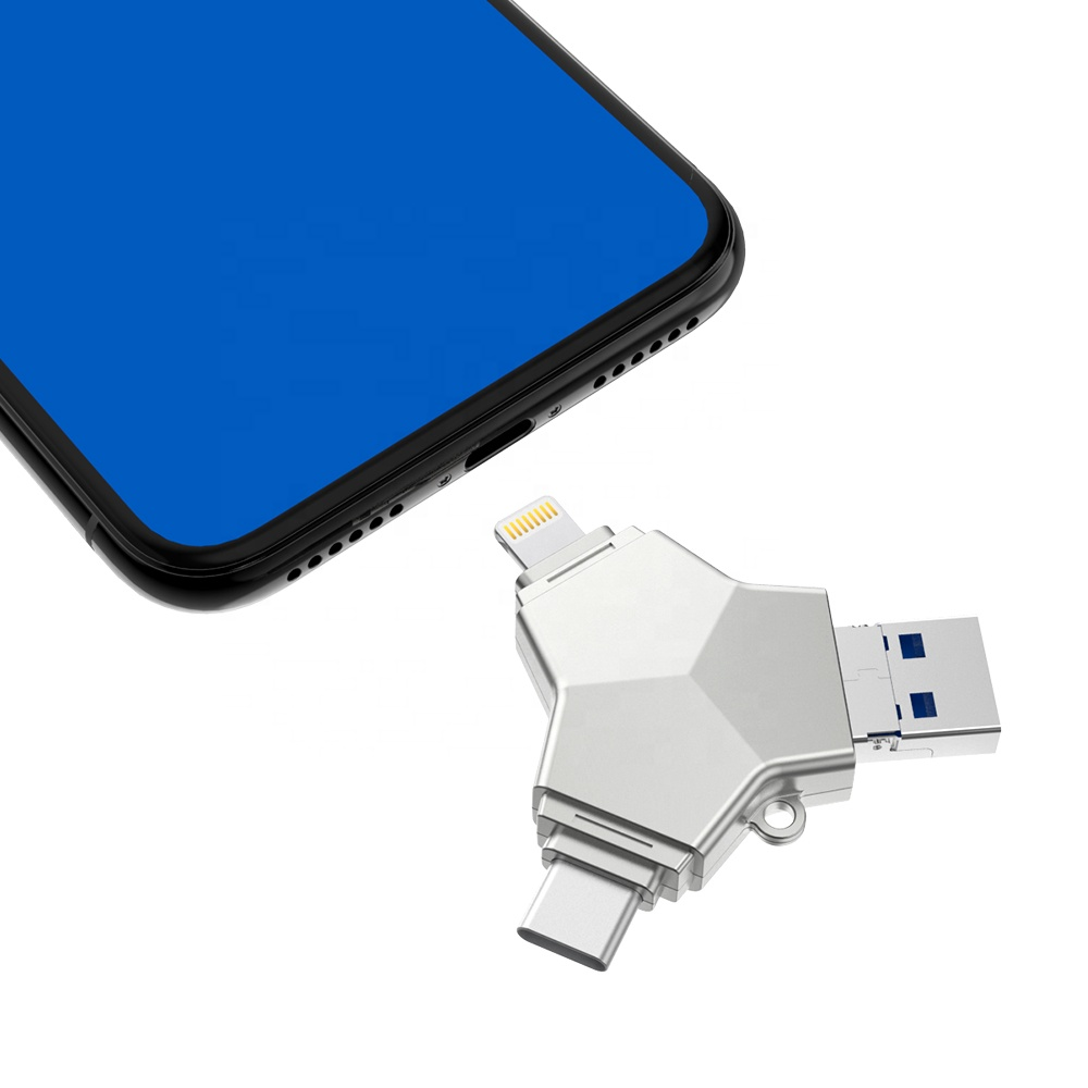 4 in 1 <strong>USB</strong> <strong>flash</strong> <strong>drive</strong> <strong>OTG</strong> for all smart phone OEM for Gift <strong>USB</strong> <strong>drive</strong> 3.0