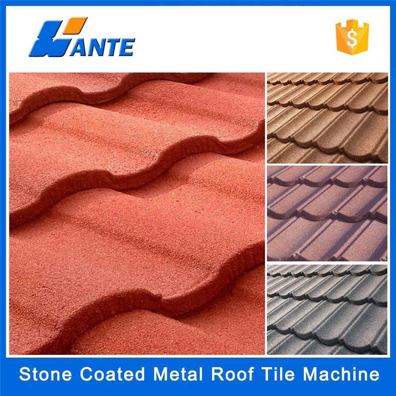 Trade assurance Stone coated step tiles roofing sheets in Lagos Nigeria