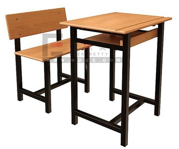 Primary & intermediate student desk and chair, classroom furniture