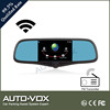 5 inch rearview monitor with bluetooth hands free DVR and navigation