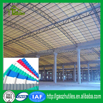 Roof Covering Plastic Price Of Corrugated Pvc Roof Sheet