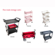 Four wheel Mobile Moving Tool Kitchen carts Folding service cart