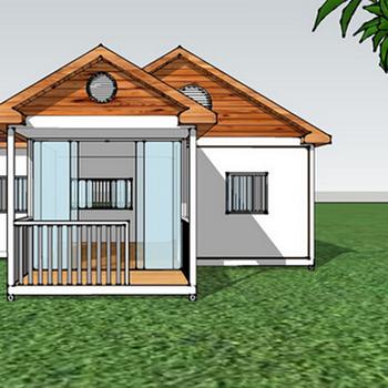 Prefabricated Steel Villa House Steel Frame Villa Prefab Metal House Design Steel  Structure Villa House Price