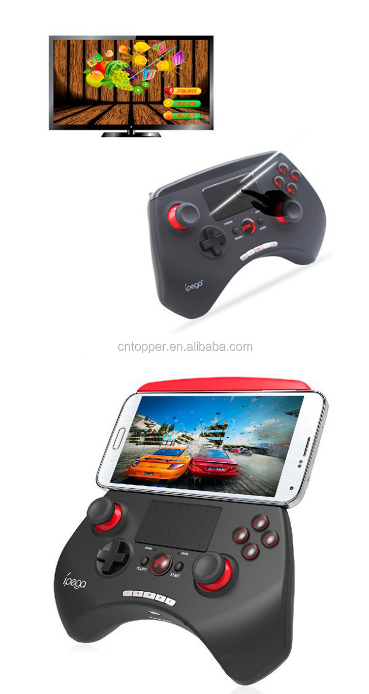samsung tv game controller. 2017 Hot Sale IPega PG-9028 Wireless Bluetooth Gamepad Boy Fighting Game Controller Touchpad For Samsung Tv A