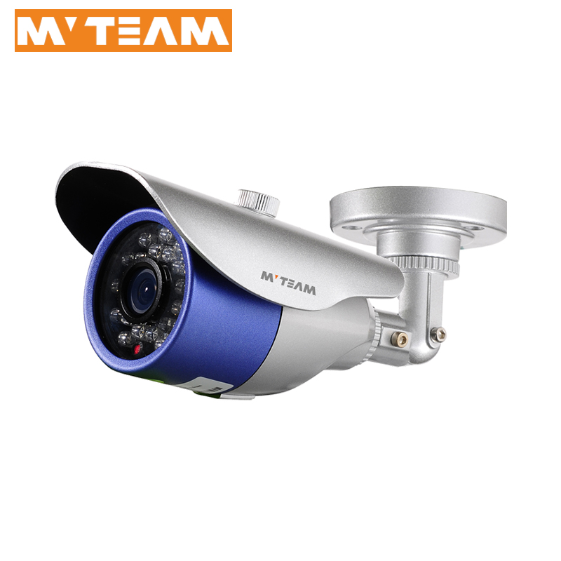 1080P 2mp full AHD Camera with cheap low price mini size Infrared CCTV camera bracket with cable built-in