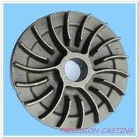 high precision small casting iron flywheel