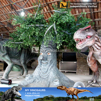 MY Dino-S21 Shopping mall exhibition decoration talking tree