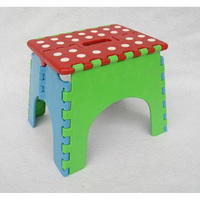 Hot Selling portable Children plastic folding stool chair