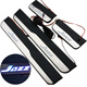 2014-2018 Jazz White illuminated led door sill scuff plate