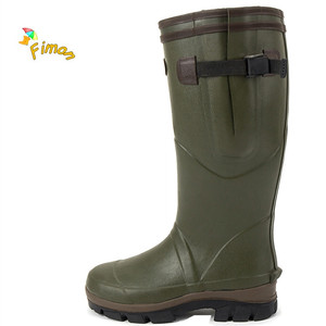 mens rubber hunting boots wholesale